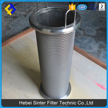 hebei factory manufacture pall replacement wedge screen filter elements used in auto filter