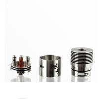 In Stock!! Factory Price Airflow Adjustable Doge V2 RDA Atomizer 1:1 Clone