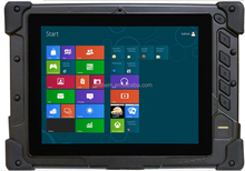 "8"" Screen Size and Tablet PC Type Industrial Rugged Tablet pc with fringerprint reader"