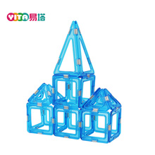 168-PCS Triangle Magnetic Block Toy For Sale Playmager Blocks Magnet Magnetic Building Blocks