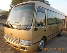Hot model 7m Coaster type luxury version mini bus with 23 seats