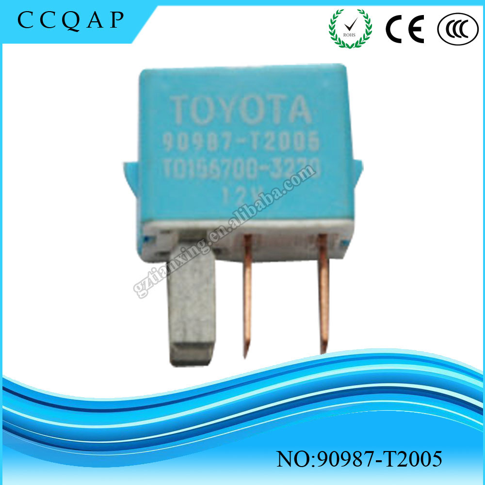 OEM 90987-T2005 Made in Japan high quality car accessories wholesale price denso toyota auto relay 12v