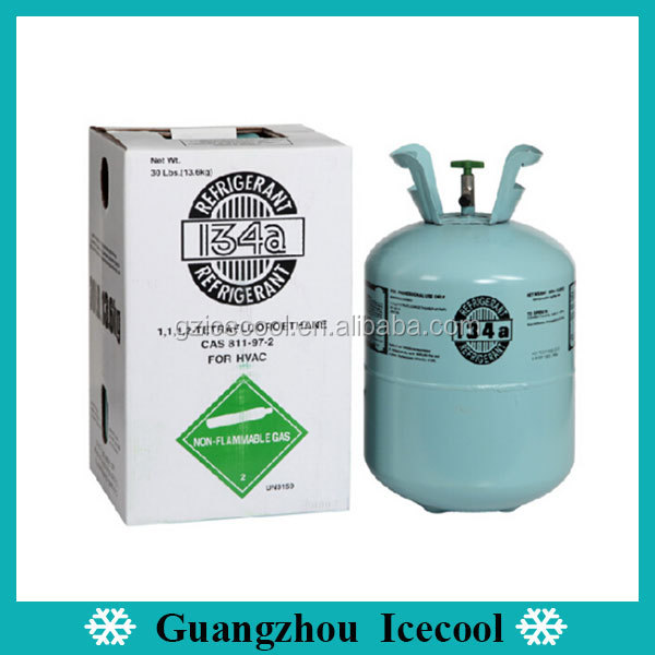 99.9% Purity Refrigerant Gas R134A For Air Condition With High Quality