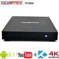 High definition Android 5.1.1 TV box Tocomfree with S905 quad-core work for worldwide