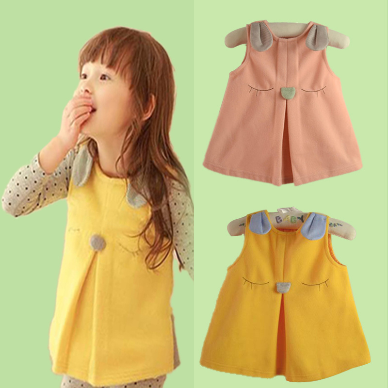 Fall Girls Waistcoat Retail Factory Outlet Children Clothing Overseas