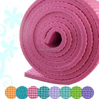 Best selling sport product yoga mat /PVC yoga gym mat fitness equipment