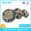 Health dog bowl stainless steel large dog feeder of 3 sizes