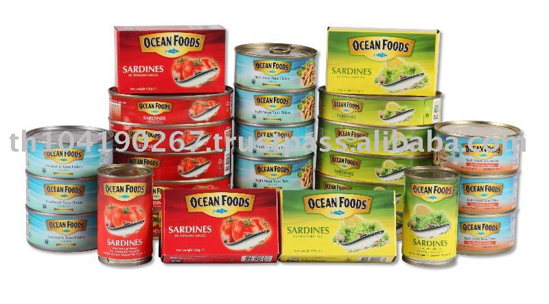 Canned Sardines Ocean Foods (From Thailand)