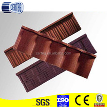0.4mm Galvalume Color Stone Coated Metal Roofing Tile Weight