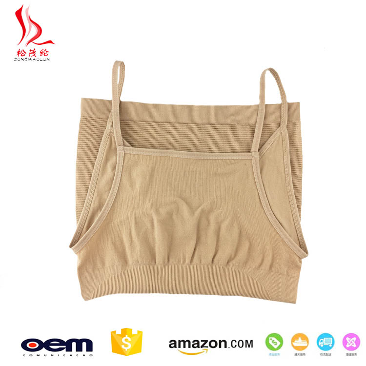 Munafie OEM service hot girl sexy slimming shaper top ladies wholesale seamless camisole