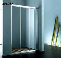 China Factory 5mm shower door, 3 sized shower door, glass sliding shower door