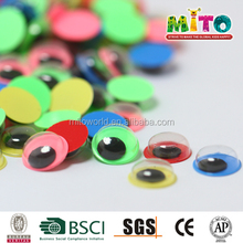 children activity mixed colors googly eyes