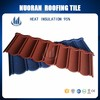 Classical Type Heat Proof Decorative Stone Coated Aluminum Zinc Roofing