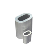 Manufacturer DIN3093 Cable fitting Seamless Aluminum sleeves Ferrules