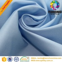 Cheap bulk wholesale plain egyptian polyester cotton t shirts fabric for promotion