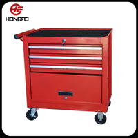 Hongfei Professional Black Tool Cart and Tool Chest for Tool Box of 21 Years Experience
