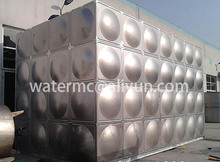 Best price fire fighting SS 304 316 stainless steel water storage tank