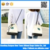 New fashion large capacity casual girls canvas messenger bag for college