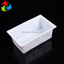 Custom factory wholesale durable plastic white blister packaging tray for frozen food