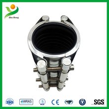 RCD-S double/single band Stainless steel pipe repair clamp/ Fast Sealing Pipe Leak Repair Clamp