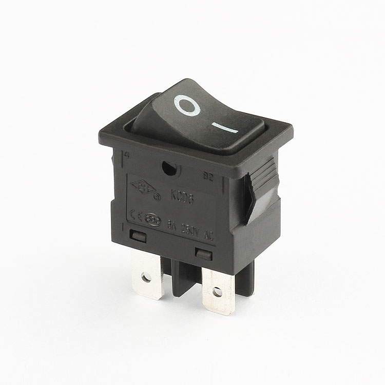 best sells rocker switch   KCD6 DPST rocker switch 220v 4 pin