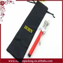 Contemporary Newest Hotsale Wholesale Satin Selfie Stick Pouch With Drawstring
