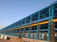 Heavy design steel structure building steel structure warehouse structure steel fabrication