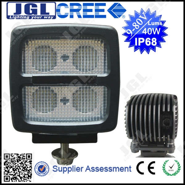 9-80V 4x4 Off Road 60w Cree Super Bright Led Worklight For ATV Tractor Truck IP68 Heavy Duty SUV Led Work Light