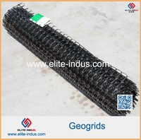 Best price Plastic Bi-axially Oriented PP Geogrid with CE certificate