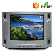 15 inch normal flat crt color tv/new crt tv/low price crt tv