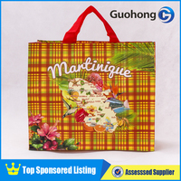 Customized pp woven shopping bag/foldable shopping bag