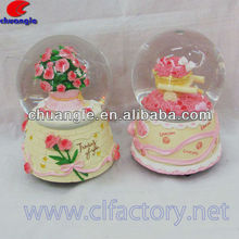 Hot seller flower water globe