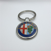 Premium Quality Custom Car Logo Keychain Metal Key Chain Key Rings