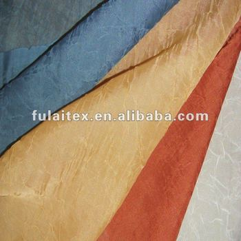 100% Polyester Crushed Voile Curtain Fabric