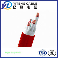 XLPE insulated fire resistant electric power cable