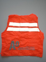 baggage transporting work high reflective tape with pockets and zipper