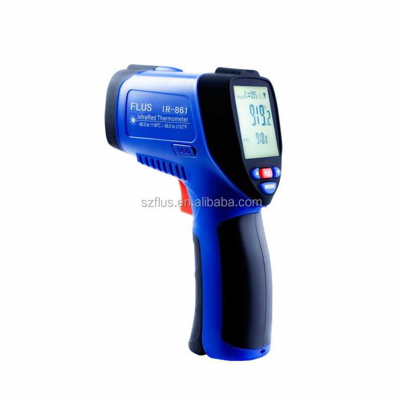 High temperature laser industrial infrared thermometer manufacturer