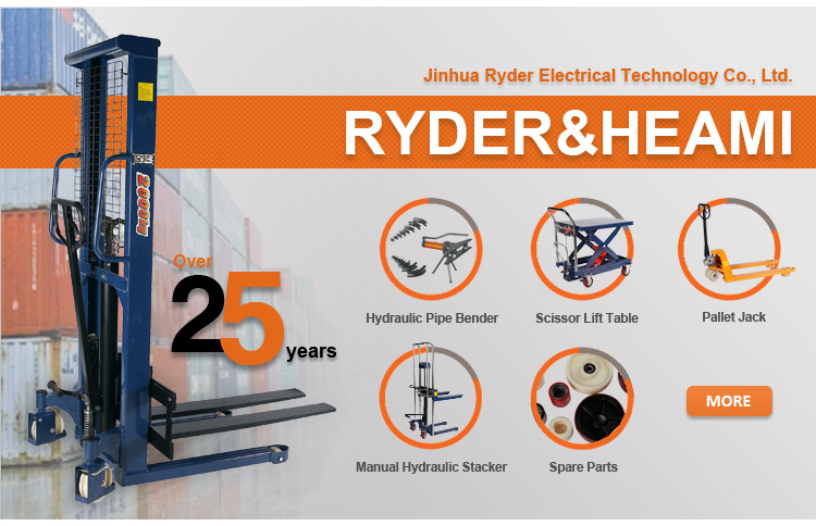 Hydraulic Pallet Lifters : Hydraulic pallet truck trolley scrollable hand fork