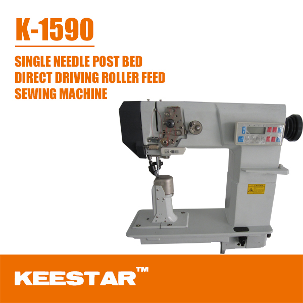 Keestar 1590 single needle post bed golden wheel sewing machine