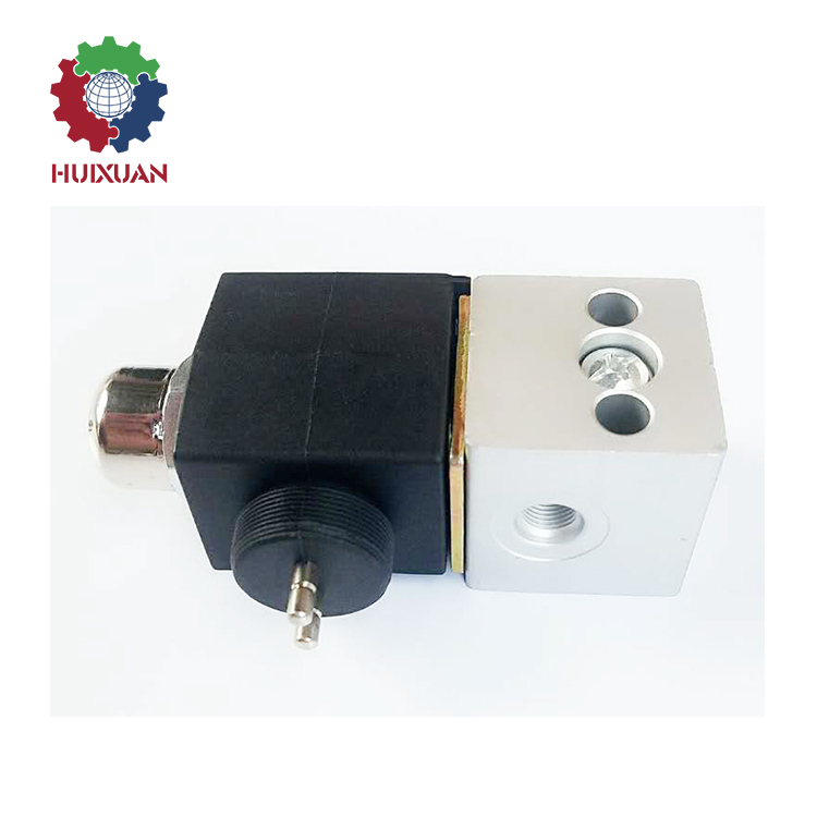 Howo truck parts stainless steel solenoid valve hydraulic solenoid valve 3 way solenoid valve WG9719710004