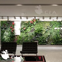 Top Quality Interior Artificial Green Wall System Plants Wall Panel