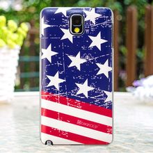 2014 hot sell cell phone cases national flag for samsung galaxy note 3 stars and stripes phone case
