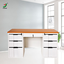 High Quality Powder Coated Steel Office Furniture Desk Metal Luxury CEO Office Table