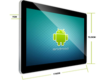 18.5'' android 4.2.2 jelly bean tablet pc dual boot tablet pc