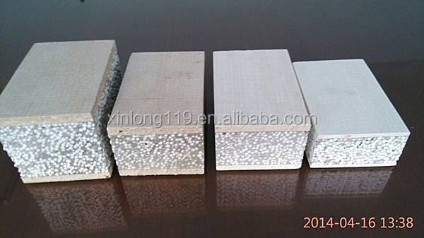 Construction Material Partition Wall, Heat Insulation EPS Sandwich, sandwich roofing panel