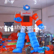 Cool Outdoor Gaint Transformers shape Inflatable advertising model