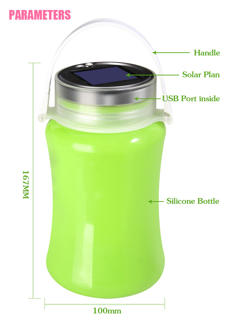 Current bottle / Wishing bottle /silicone message bottle