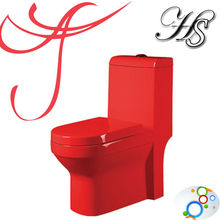 HS-1532C siphonic colored sanitary ware ceramic wc china ceramics toilet