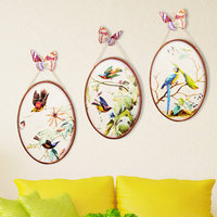 Decorative Painting Creative Wall Paintings Hanging Ornaments European Iron Wall Murals