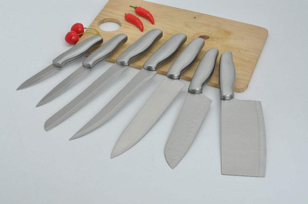TS-NF-006 cheap 5pcs stainless steel knife